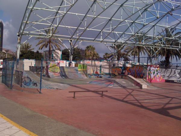 Gran canaria las palmas skatepark skatemap for Gran canaria padel indoor