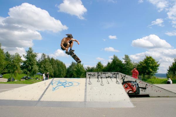 Skatepark Sonnenleite/Erzgebirge